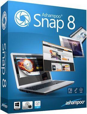 Ashampoo Snap 8.0.4 RePack (& portable) by KpoJIuK [ENGRUS]